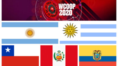 Photo of Todas las cajas latinas en los eventos principales del WCOOP 2020